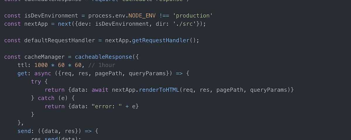 Code excerpt